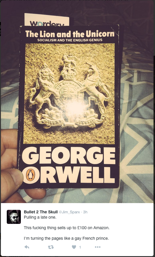 'The Lion and the Unicorn' by George Orwell