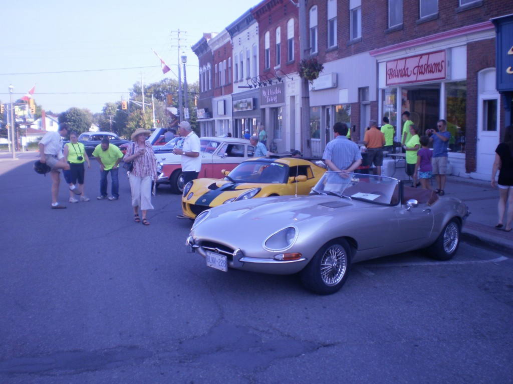Car Show in Arnprior. August 30, 2012.