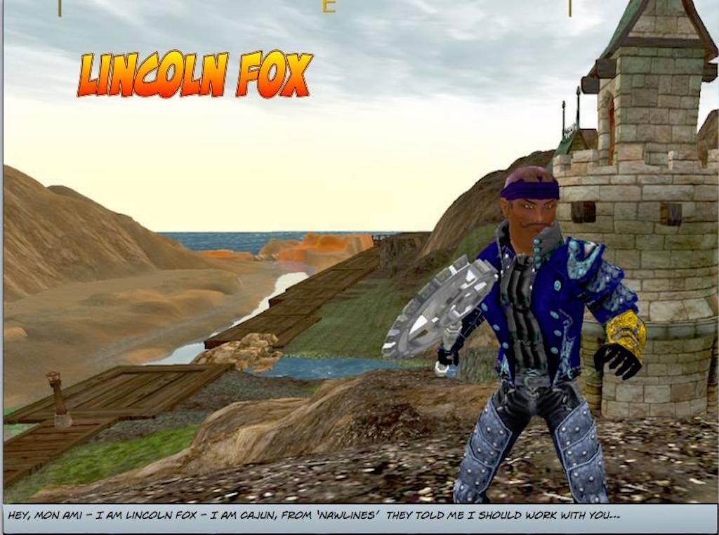 Lincoln Fox page 1