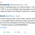 - Another complaint about Andrew Sheer's deceptive, devisive campaign propaganda.
